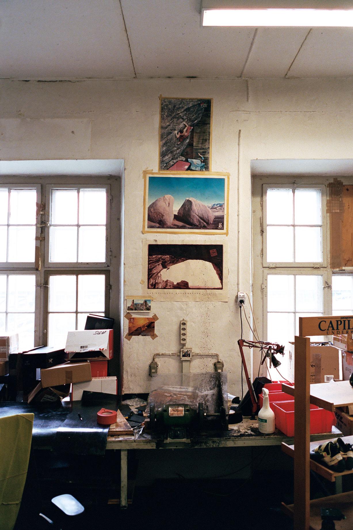 Gecko Resoling Werkstatt