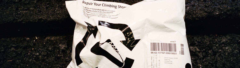 Gecko Resoling Sack für Kletterschuhe Versand