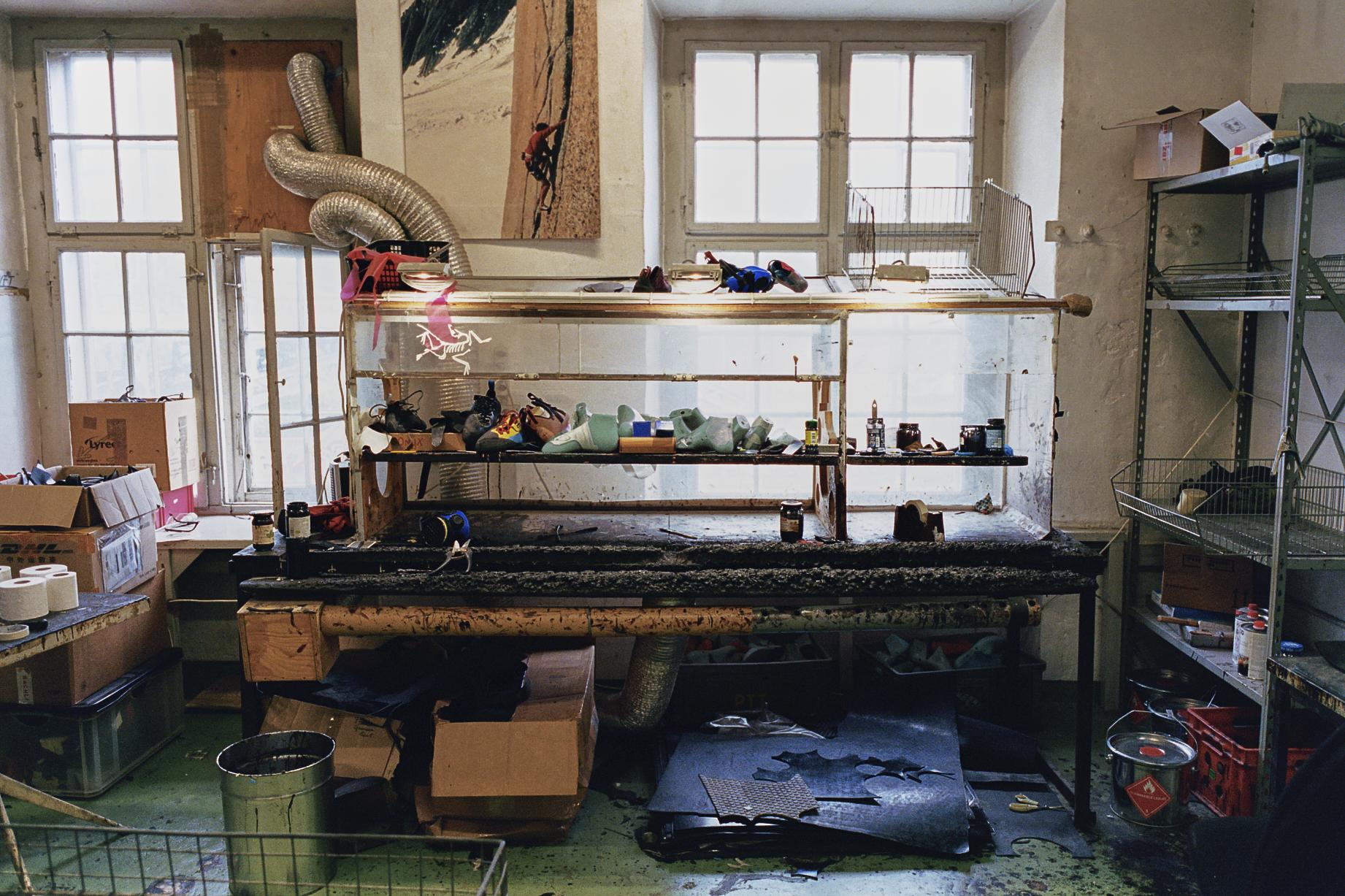 Gecko Resoling Kletterschuhe Werkstatt